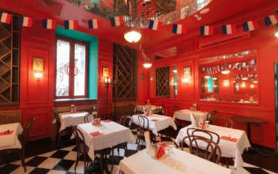 Банкетный зал кафе Жан-Жак Руссо на улице Маросейка фото 1
