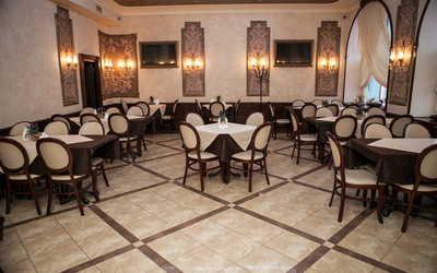 Банкетный зал кафе Поместье на Оранжерейной улице