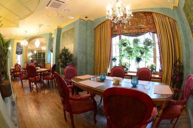 Меню ресторана Европейский (бывш. Синяя птица) на улице Генерала Белобородова