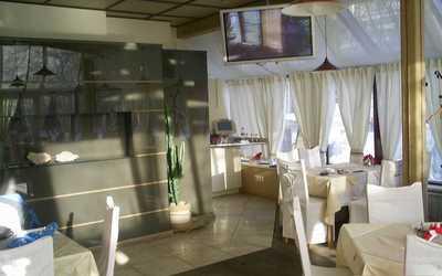 Банкетный зал кафе Аквариум в Университетском переулке