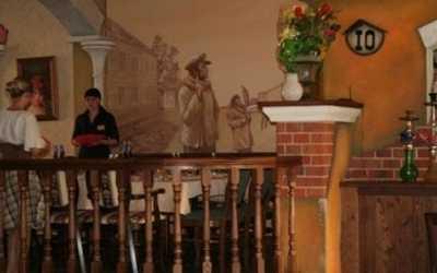 Банкетный зал кафе, ресторана 12 стульев на улице Зеленский Съезд