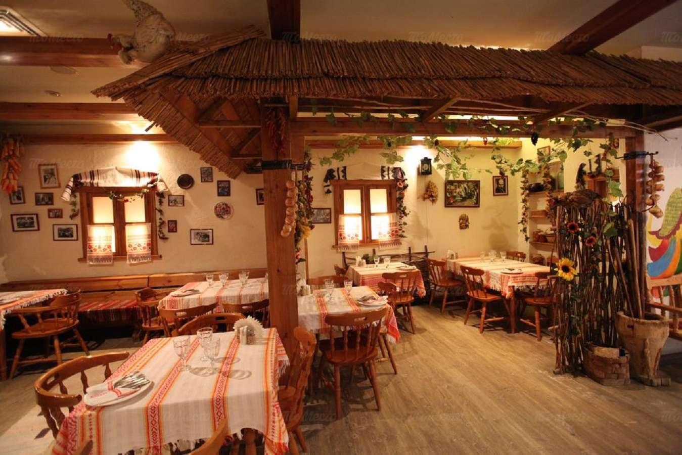 Меню ресторана Веселая кума на улице Костиной