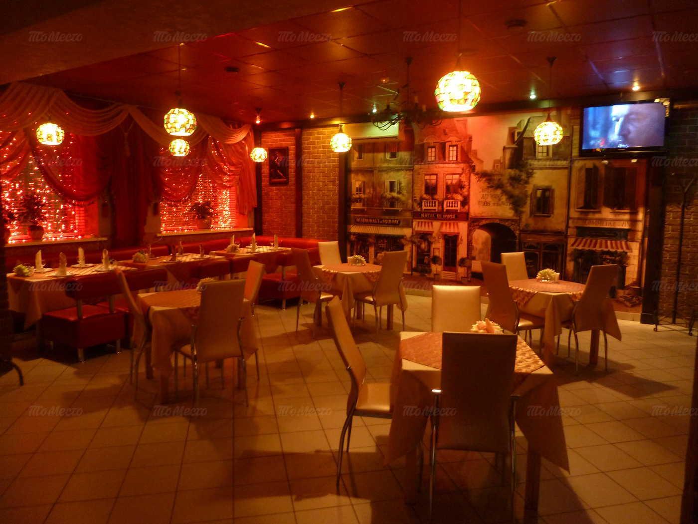 Меню бара, кафе Кураж на улице Красных Зорь