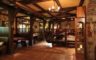 Банкетный зал ресторана Пирушка у Ганса на улице Костина фото 1