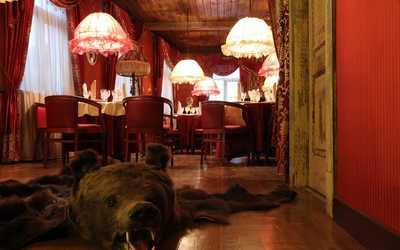 Банкетный зал ресторана Усадьба на улице Ошарской фото 1