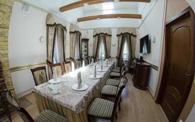 Банкетный зал ресторана У Александра на набережной Гребного канала