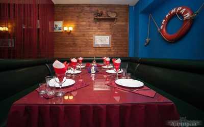 Банкетный зал ресторана Адмирал на улице Минеевой