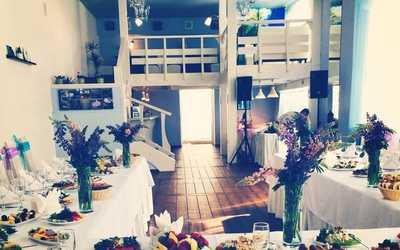 Банкетный зал ресторана Адмирал на Митрофаньевском шоссе