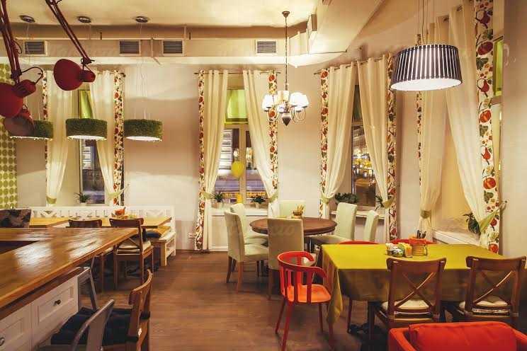 Меню кафе Дюшес на Невском проспекте
