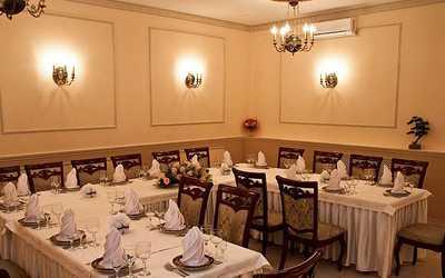 Банкетный зал ресторана Союз на Левобережной улице