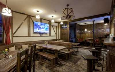 Банкетный зал ресторана Масс унд Шпасс (Maß und Spass) на Загребском бульваре фото 1