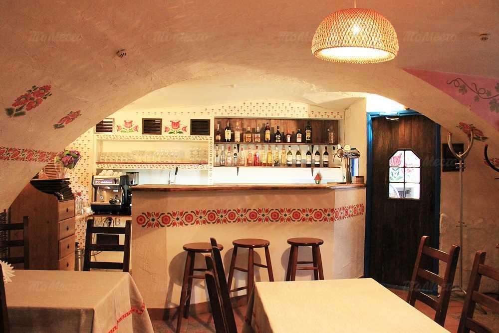 Меню ресторана Смалец на Фурштатской улице