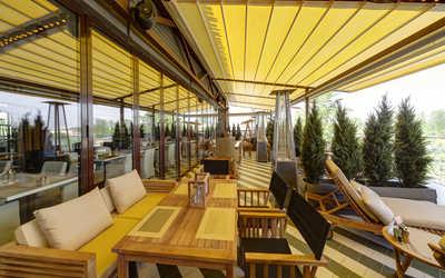 Банкетный зал ресторана Крыша на Индустриальном проспекте