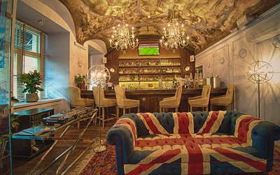 Банкетный зал ресторана Бифштекс на Большой Никитской улице