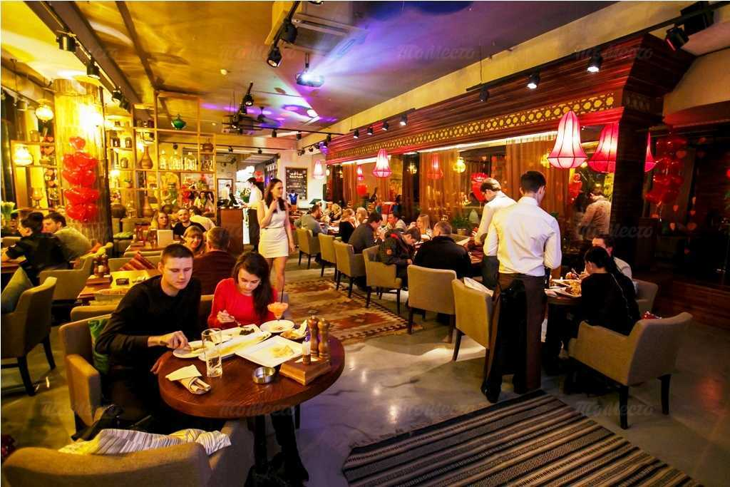 Меню ресторана Бахчай на проспекте Науки
