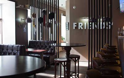 Банкетный зал бара, караоке клуба, пивного ресторана Mon Ami на Белоостровской улице