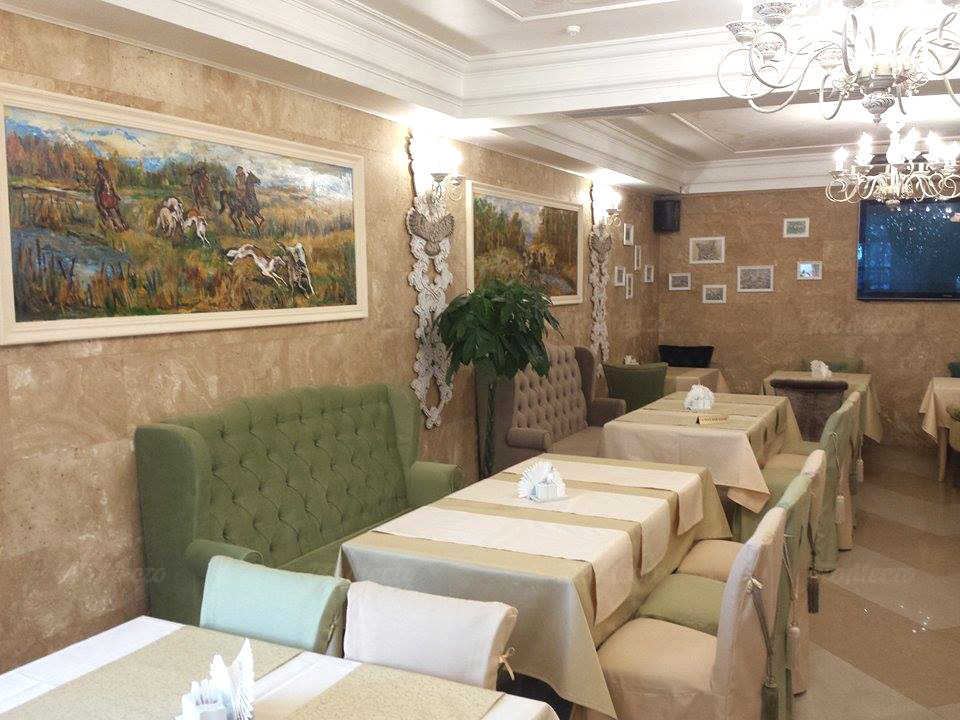 Меню ресторана Старый Егерь на улице Мастеркова