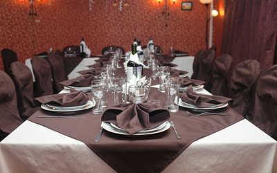 Банкетный зал бара, ресторана Кабачок на проспекте Просвещения