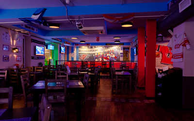 Банкетный зал бара Спорт-бар 1946 на Вербной улице фото 2