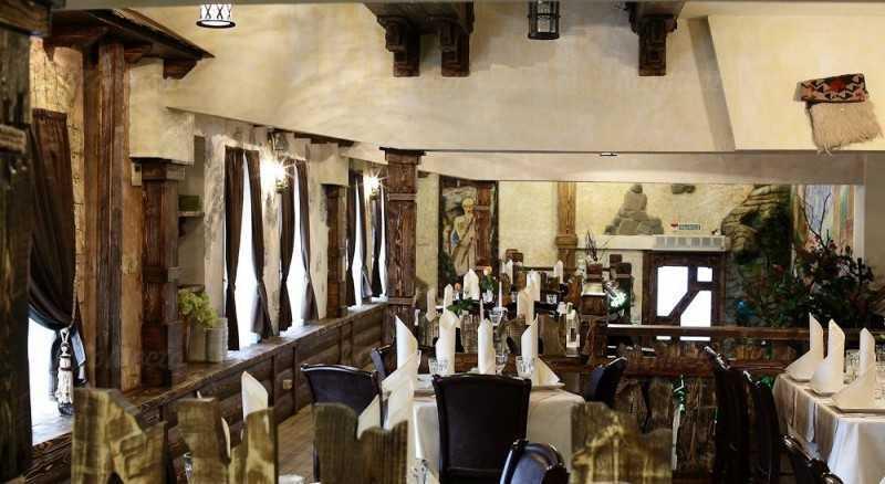 Меню ресторана Сванети на Большой Семеновской улице
