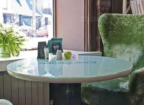 Меню кафе Молоко (Moloko) на Алексеевской улице