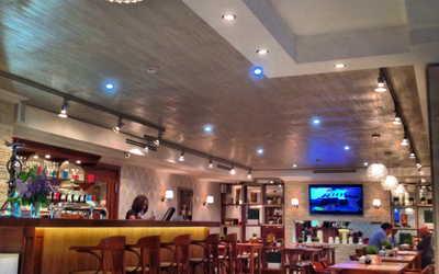 Банкетный зал кафе, ресторана Настроение на улице Ленсовета фото 3