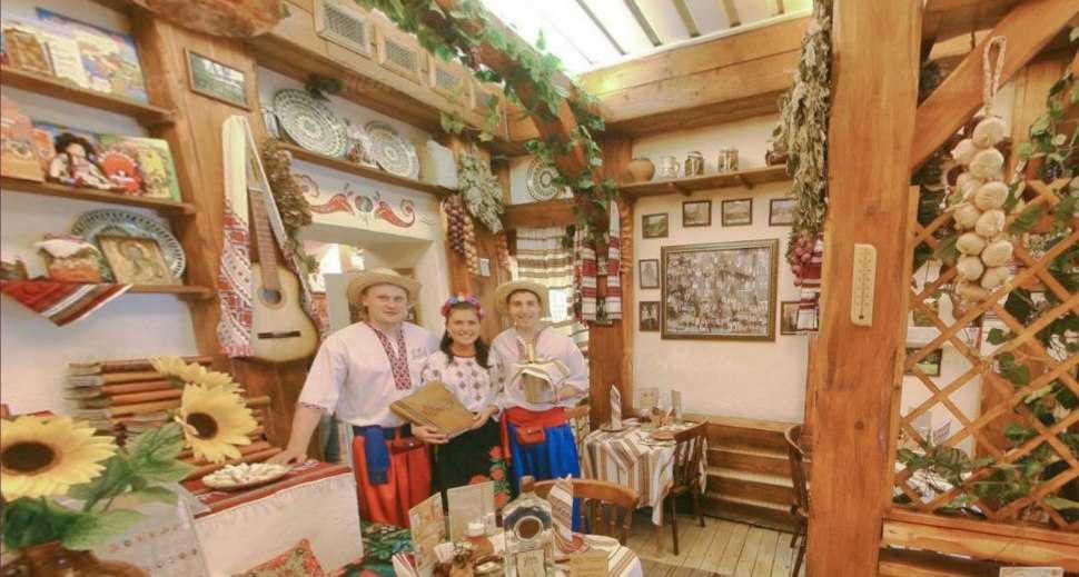 Меню ресторана Корчма Тарас Бульба на улице Петровка