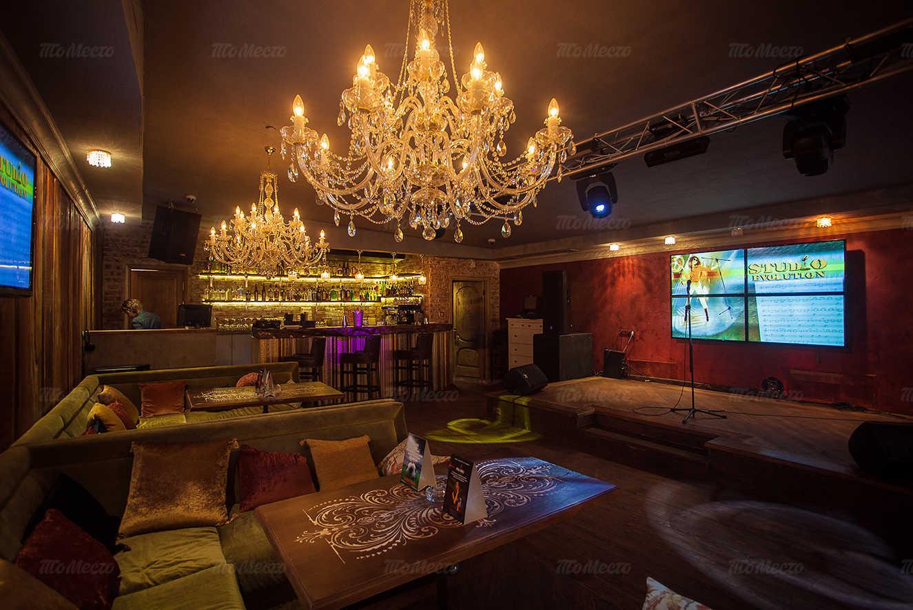 Меню караоке клуба, ночного клуба, ресторана Malinki (Малинки) на Фурштатской улице