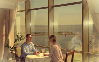 Банкетный зал ресторана Яхт-Клуб на Портовой улице фото 2