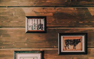 Банкетный зал ресторана, стейк-хауса Steak Story на улице Нахимовой