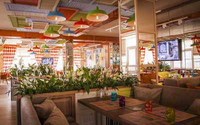 Банкетный зал кафе Руккола на улице Профсоюзной фото 3