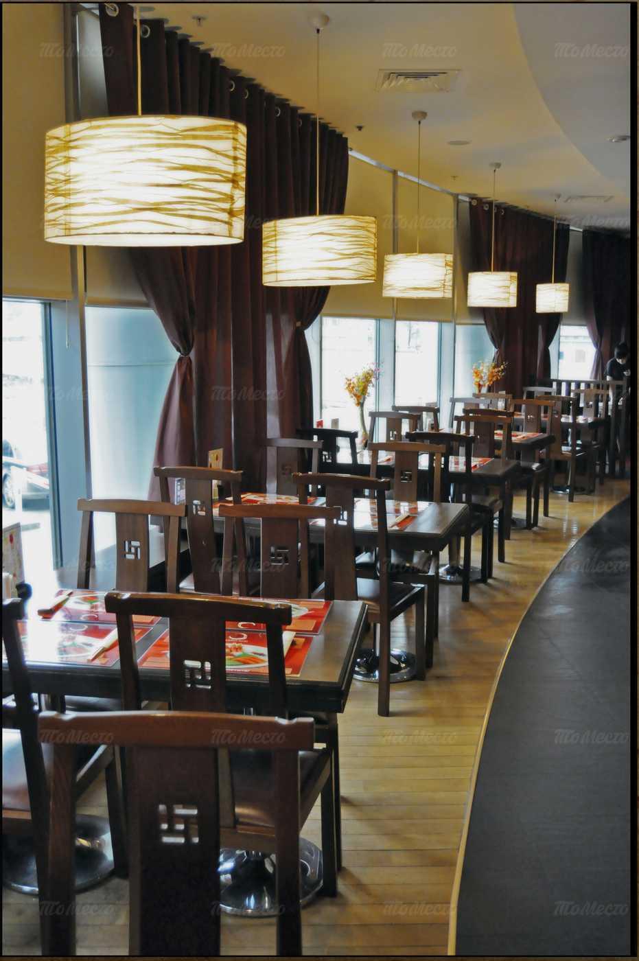 Меню ресторана Ичибан Боши (Ichiban Boshi) на улице Правды