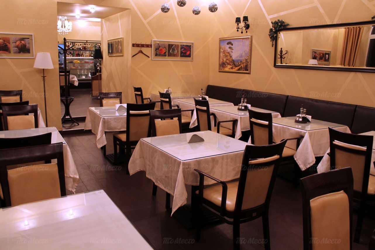 Меню кафе Кофе Шенк в Газетном переулке