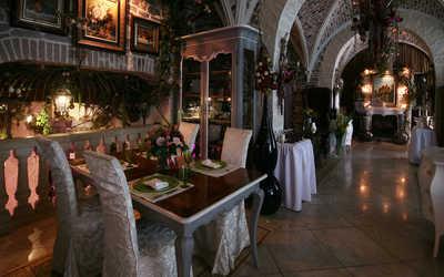Банкетный зал ресторана Цветочный лес (Chateau de Fleurs) на Ломоносовском проспекте фото 1