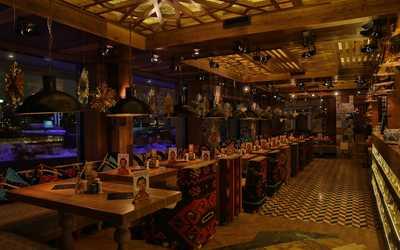 Банкетный зал ресторана Чайхона №1 Тимура Ланского на улице Большая Полянка фото 1