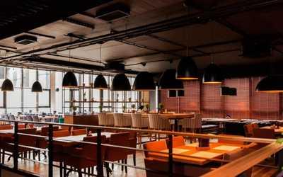 Банкетный зал ресторана Глобус на Туристской улице