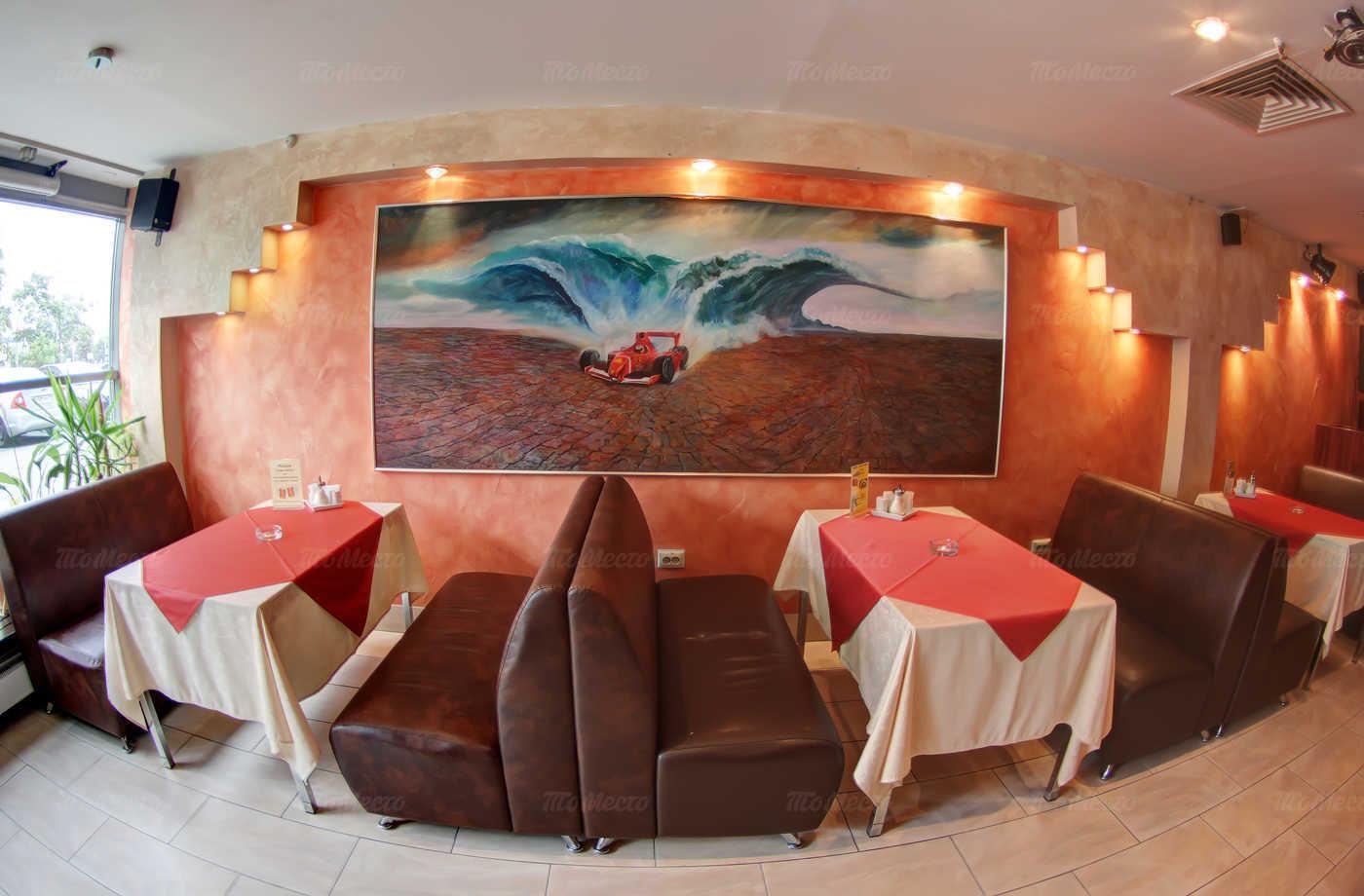 Меню кафе Вираж на Коломяжском проспекте
