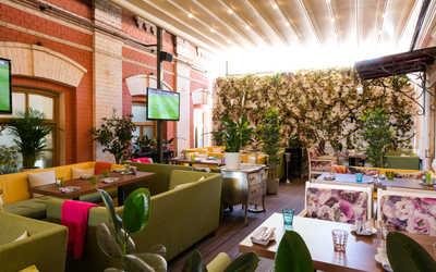 Банкетный зал ресторана Villa Rosa (Вилла Роза) на Пятницкой улице