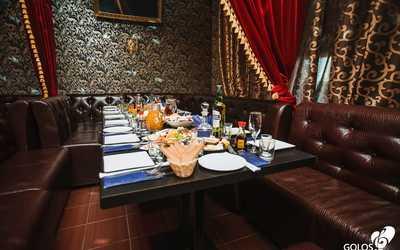 Банкетный зал бара, караоке клуб, ресторана Голос (Golos) на Бухарестской улице фото 1