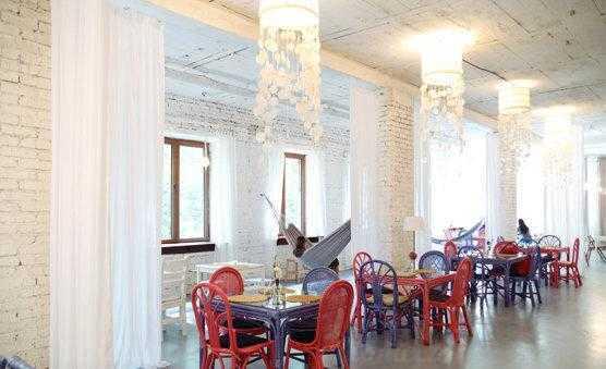 Меню ресторана Море внутри на Песочной аллее