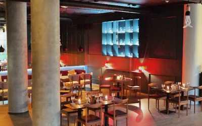 Банкетный зал бара, кафе The Maze на Парадной улице