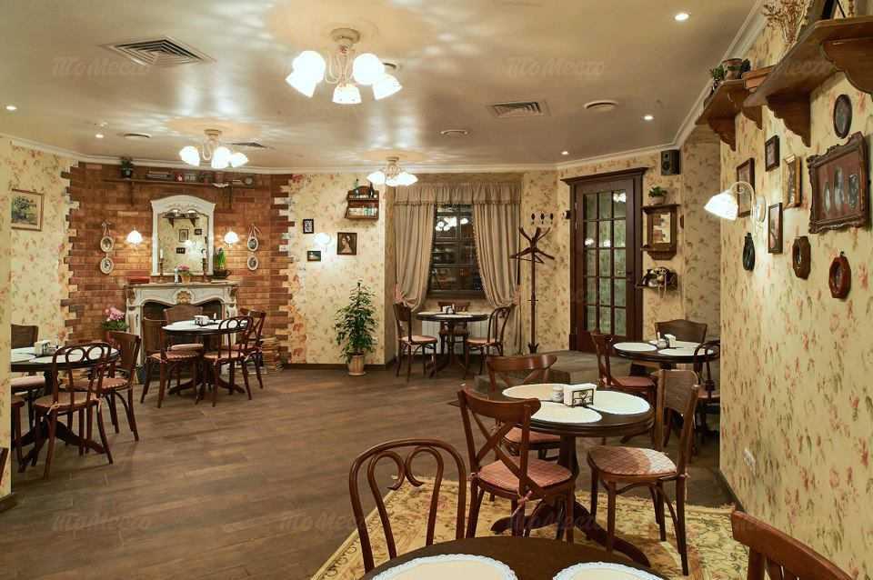 Меню ресторана Мамы в Большом Палашевском переулке
