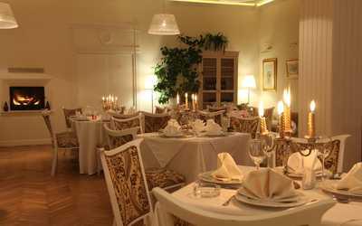 Банкетный зал ресторана Солнце на улице Погодина