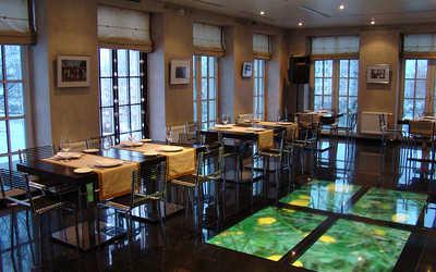 Банкетный зал ресторана Дача Линдстрема на улице Глинки