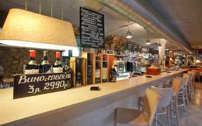 Банкетный зал бара, ресторана Bar Cervetti (Черветти) (бывш. BarBontempi) на Никитском бульваре