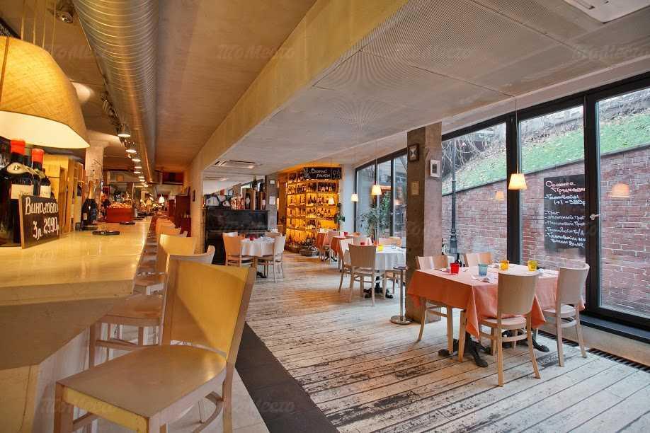 Меню бара, ресторана Bar Cervetti (Черветти) (бывш. BarBontempi) на Никитском бульваре