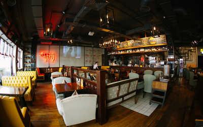 Банкетный зал стейк-хауса Zinger Grill (Зингер Гриль) на улице Арбат