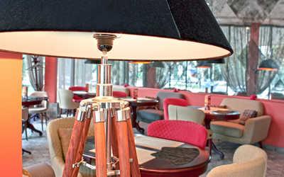 Банкетный зал ресторана Шантиль на Большой Грузинской улице