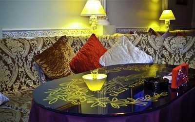 Банкетный зал караоке клуба, ресторана Карузо на Бакунинской улице