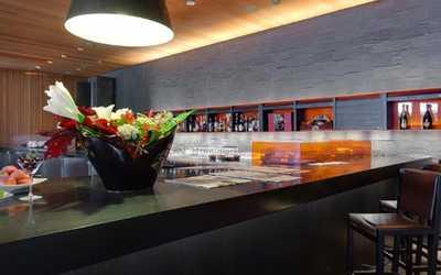 Банкетный зал ресторана А.Комм (Mercury group restaurants) на Рублево-Успенском шоссе